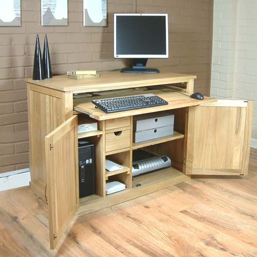 hidden home office fusion oak 2 drawer filing cabinet