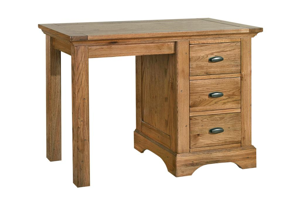 boston solid oak rustic furniture computer desk table ebay