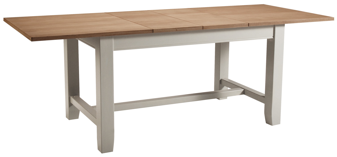 Chelsea painted oak top furniture extending dining table : Chelsea20Dining201 from ebay.co.uk size 1181 x 553 jpeg 97kB