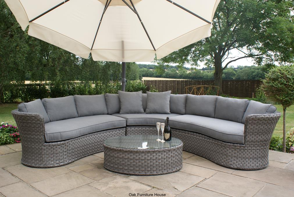 Garden Furniture 2014 Uk modren rattan garden furniture grey 9 piece cube set deluxe