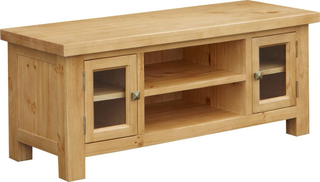 Details about neo pine furniture widescreen tv unit cabinet stand