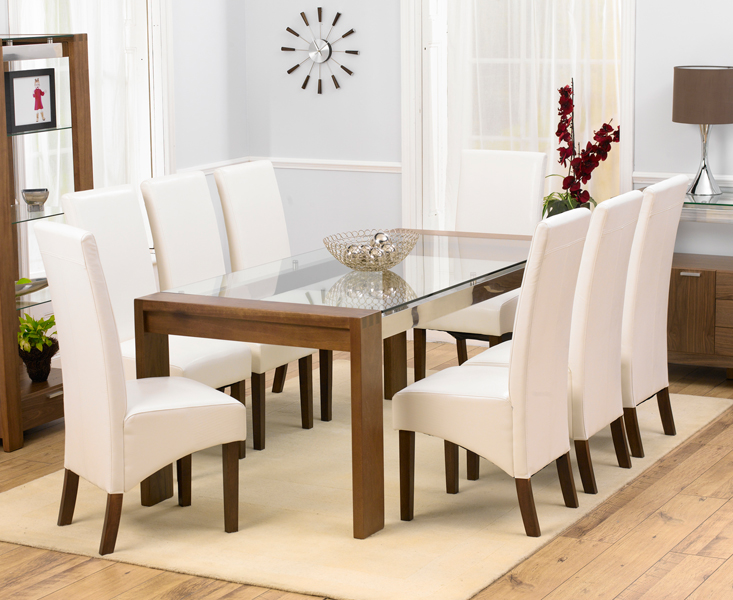Vegas Solid Walnut And Glass Furniture Large Dining Table And 8 Vegas Solid  Walnut And GlassRoundEbay Uk Round Dining Table And Chairs Shabby Chic  Round  Ebay Dining Table Chairs  Ebay Dining Table Chairs shabby chic  . Glass Dining Table Ebay Uk. Home Design Ideas