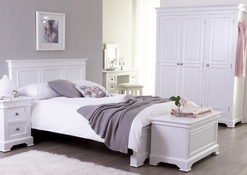 Example of reims bedroom range below in ivory colour for Ivory painted bedroom furniture