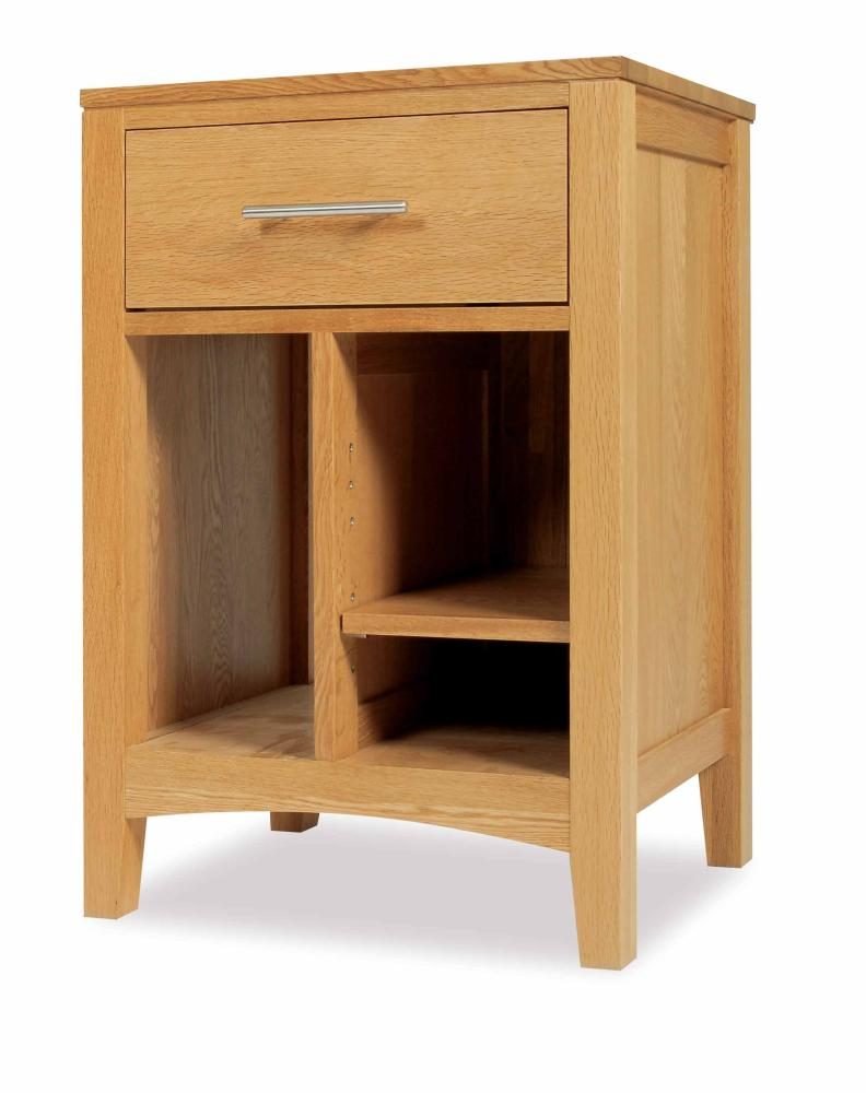 Details about ROYAL oak computer desk PC tower cabinet FURNITURE new
