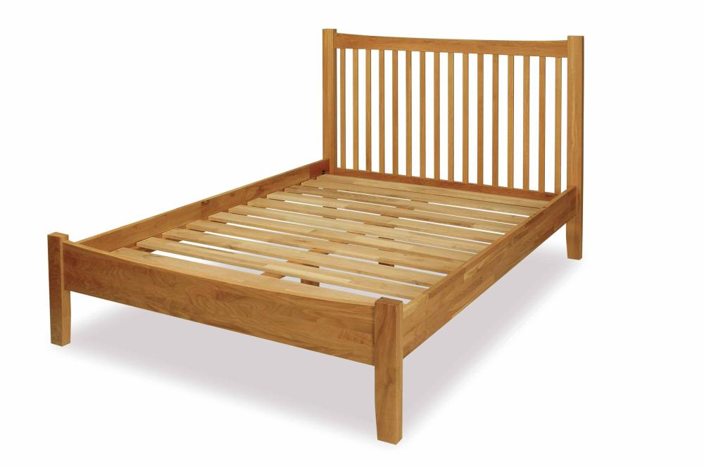 royal solid oak single bed frame 3ft modern furniture ebay. Black Bedroom Furniture Sets. Home Design Ideas