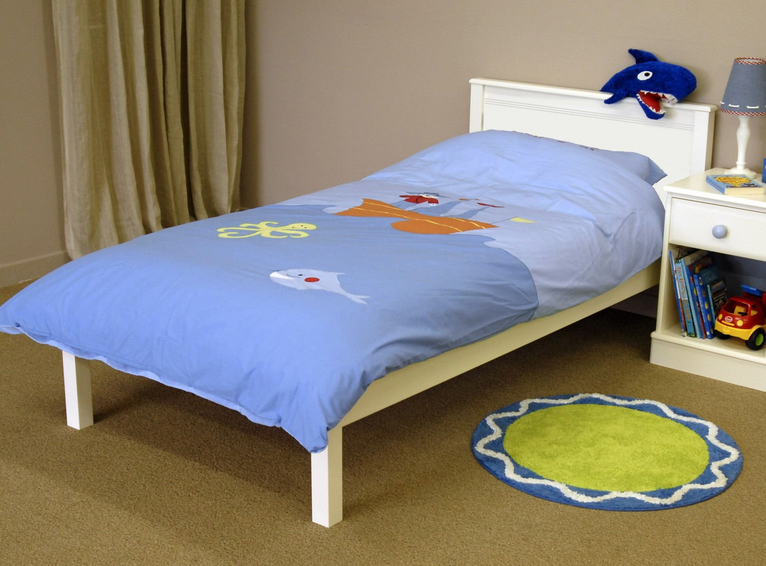 New oxford childrens pine painted furniture single bed for Childrens single beds