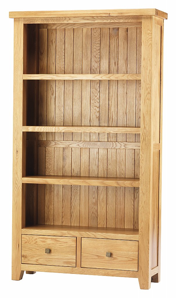 Complete Full Bookcase Daybed With Storage Benchmark Full: YORK Oak CHUNKY Tall Bookcase Living Room FURNITURE New