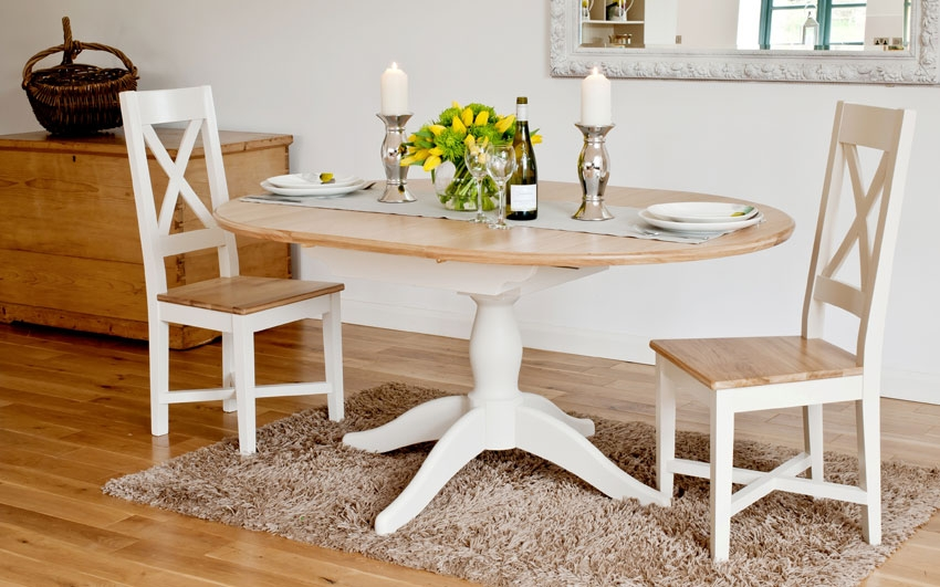 Ellis Painted Range Oval Extending Dining Table