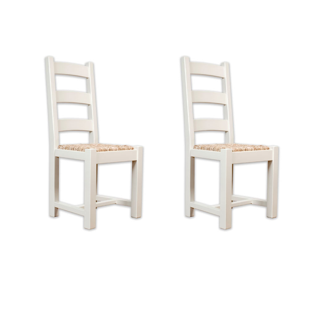 Ellis painted furniture oak 6 farmhouse dining table chairs